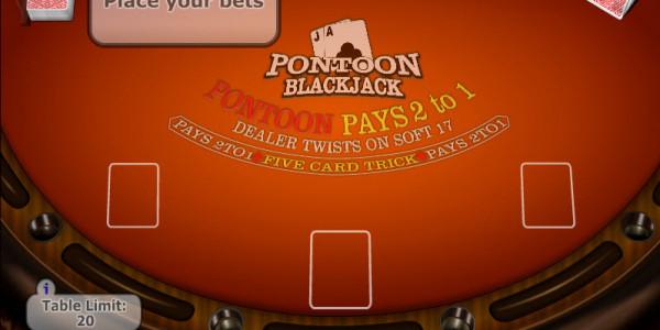 Pontoon – Low Stakes MCPcom Gaming and Gambling