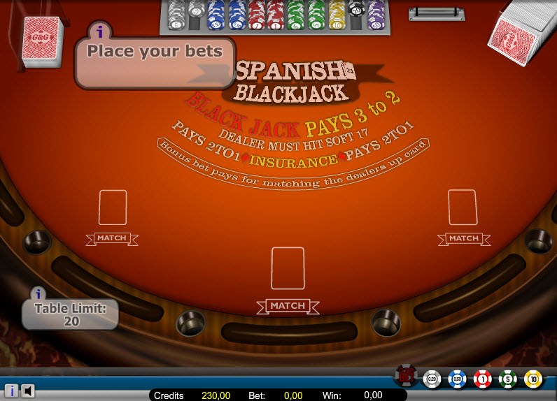 Spanish 21 – Low Stakes MCPcom Gaming and Gambling