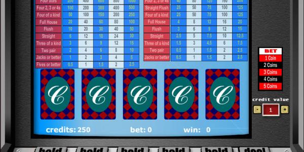 Bonus Poker Double Pay – 1 Hand MCPcom Gaming and Gambling