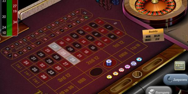 Racetrack roulette MCPcom GazGaming 2