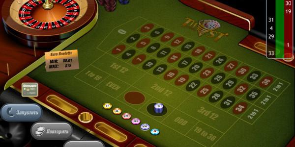European roulette MCPcom GazGaming2