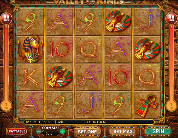 Valley of Kings MCPcom Genesis Gaming