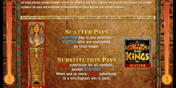 Valley of Kings MCPcom Genesis Gaming pay