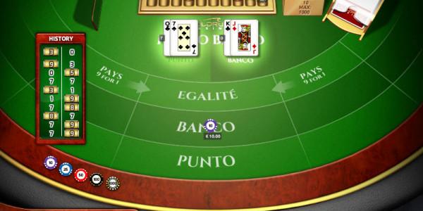 Punto Banco High MCPcom Holland Power Gaming2