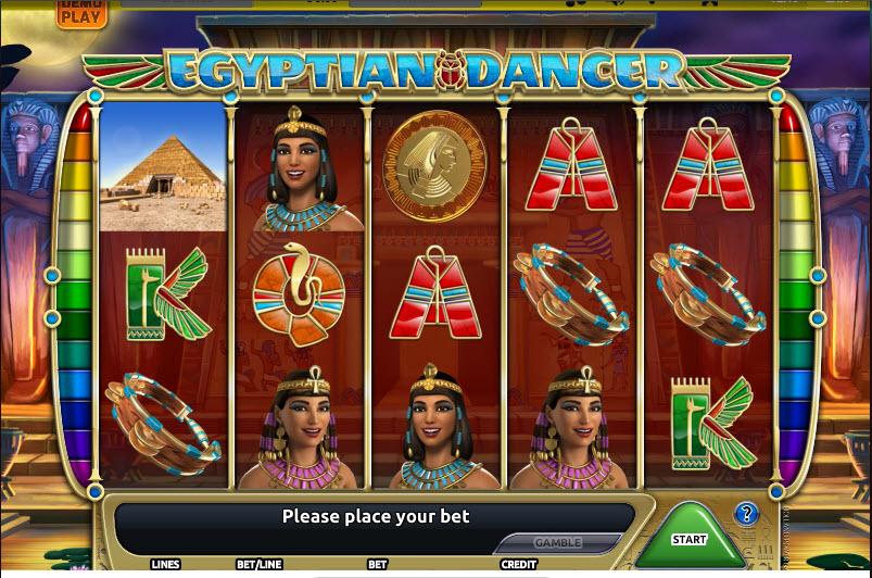 Egyptian Dancer MCPcom Holland Power Gaming