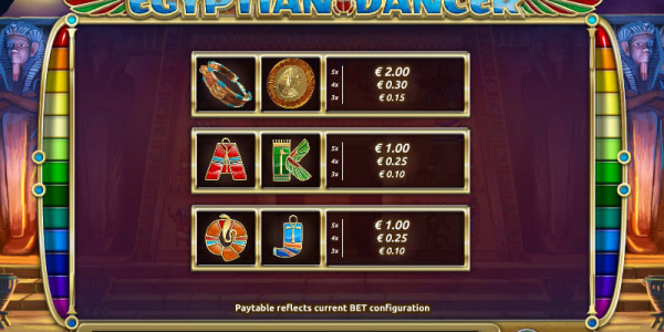 Egyptian Dancer MCPcom Holland Power Gaming pay2