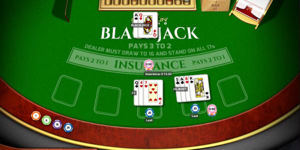European Blackjack Standard MCPcom Holland Power Gaming 3