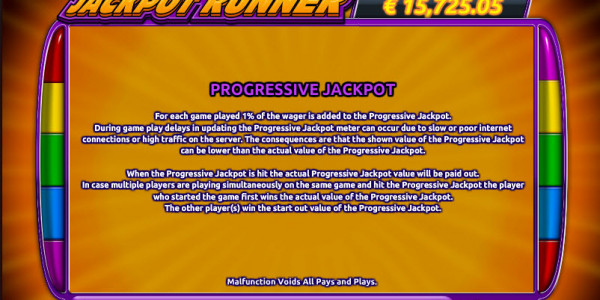 Jackpot Runner MCPcom Holland Power Gaming pay2
