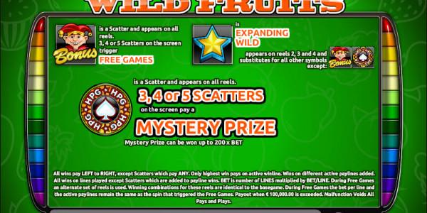 Wild Fruits MCPcom Holland Power Gaming pay2
