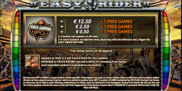 Easy Rider MCPcom Holland Power Gaming pay2