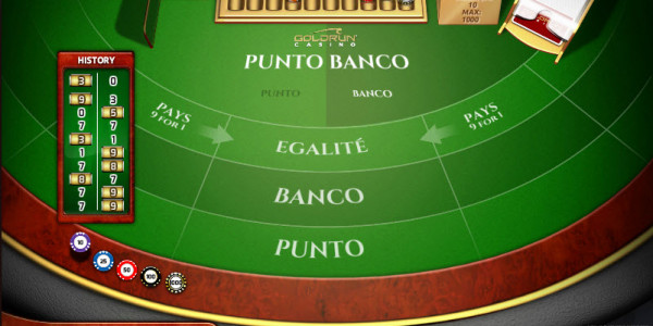 Punto Banco High MCPcom Holland Power Gaming