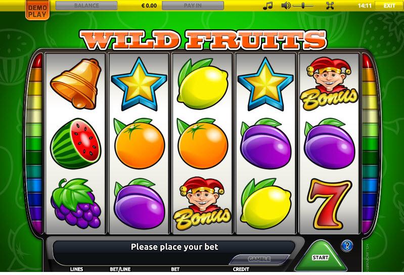 Wild Fruits MCPcom Holland Power Gaming