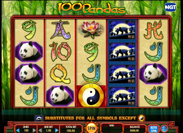 100 Pandas MCPcom IGT