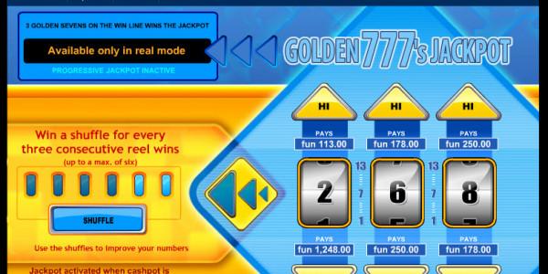 Golden 777's Jackpot MCPcom IGT2