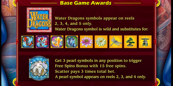 Water Dragons MCPcom IGT pay2