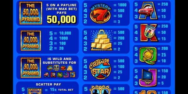 50.000 Pyramid MCPcom IGT pay2