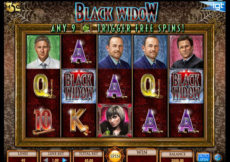 Black Widow MCPcom IGT