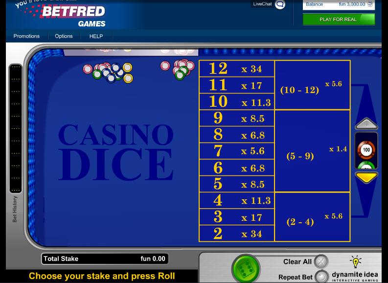 Casino Dice MCPcom IGT