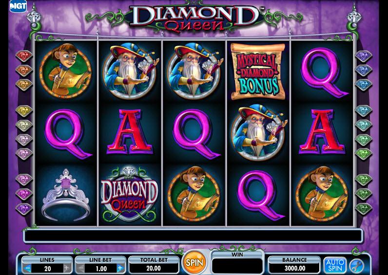Diamond Queen MCPcom IGTDiamond Queen MCPcom IGT
