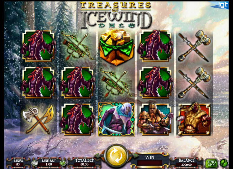 Dungeons & Dragons – Treasures of Icewind Dale MCPcom IGT