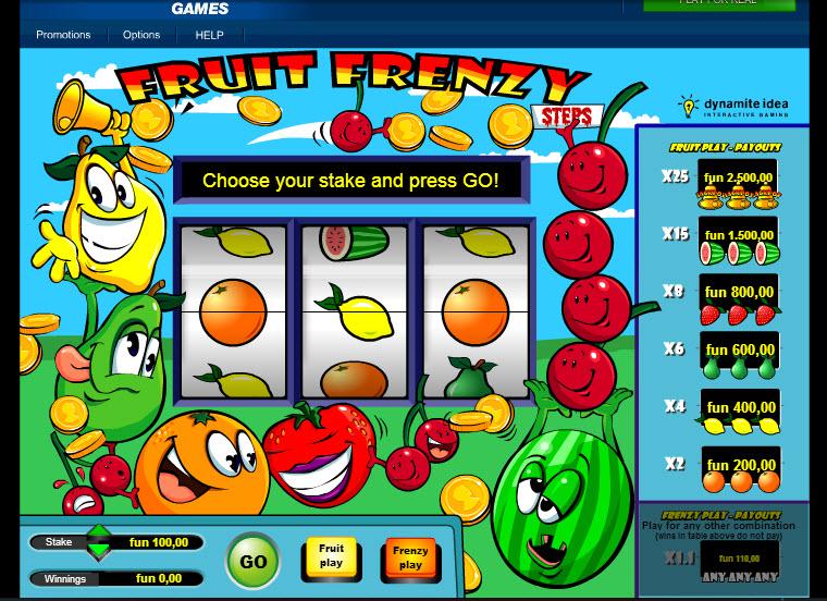 Fruit Frenzy MCPcom IGT
