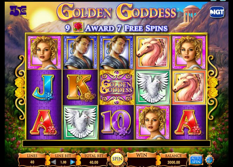 Golden Goddess MCPcom IGT
