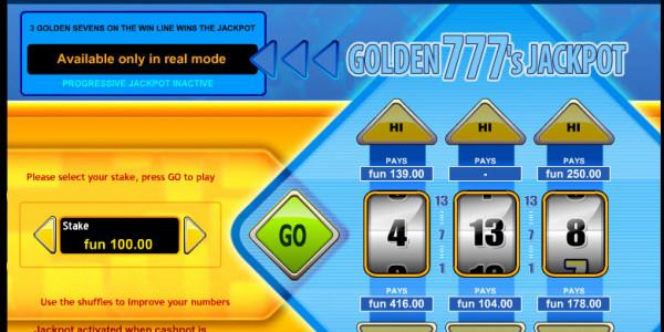 Golden 777's Jackpot MCPcom IGT