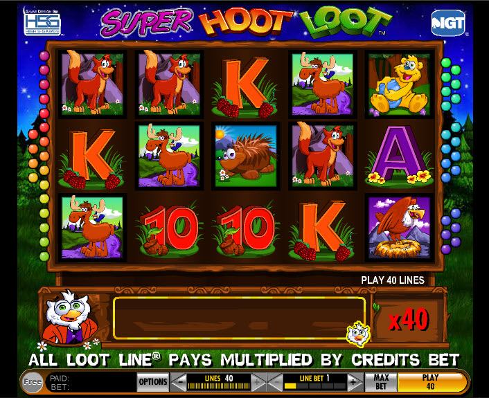 Super Hoot Loot MCPcom IGT