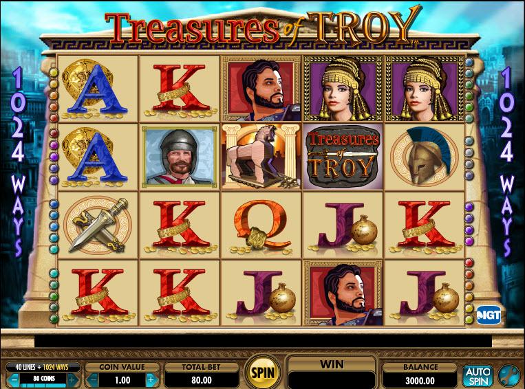 Treasures of Troy MCPcom IGT