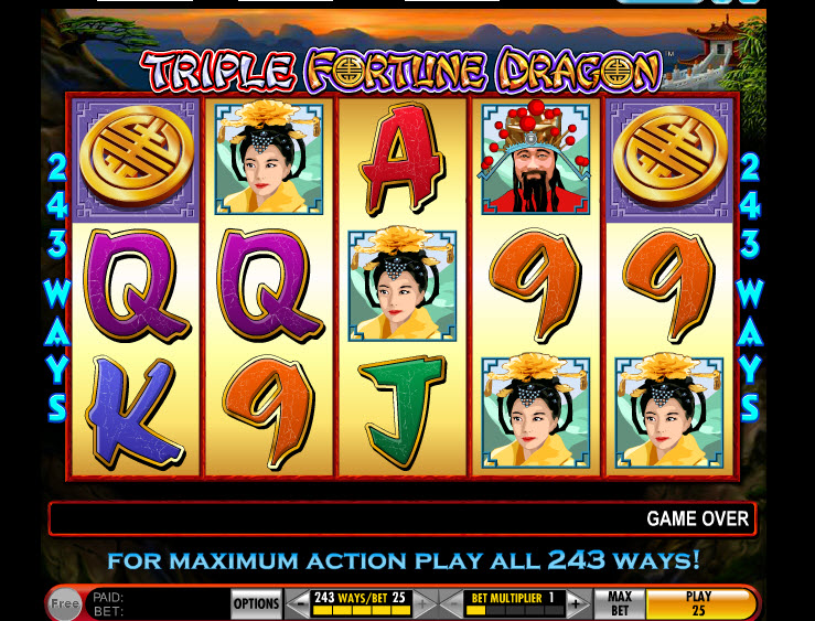 Triple Fortune Dragon MCPcom IGT