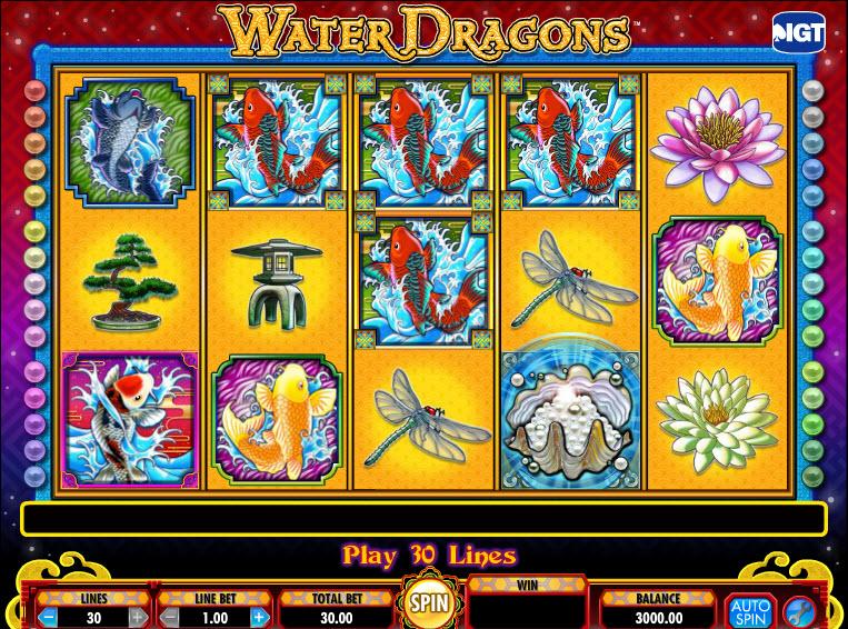 Water Dragons MCPcom IGT