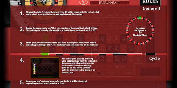 Roulette European MCPcom KGR2
