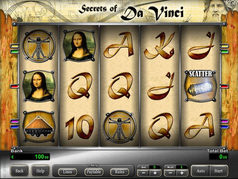 Secrets of Da Vinci MCPcom KGR