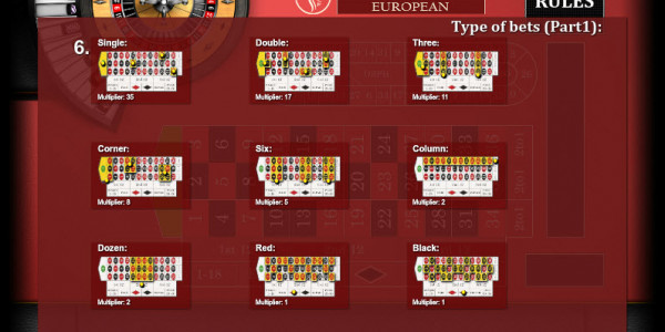 Roulette European MCPcom KGR3