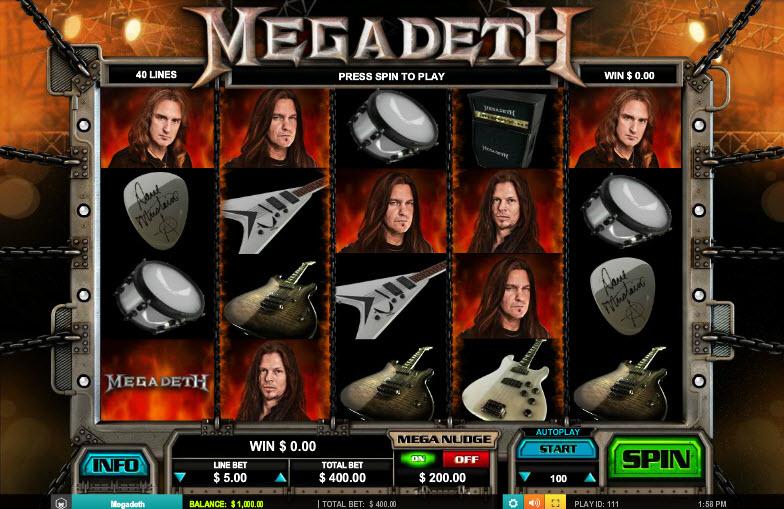 Megadeth MCPcom Leander Games