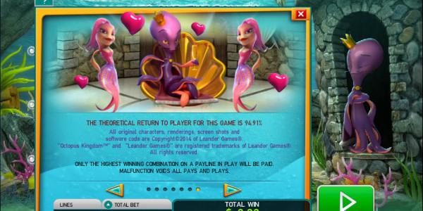Octopus Kingdom MCPcom Leander Games pay2