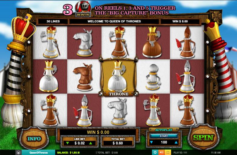 Queen of Thrones MCPcom Leander Games