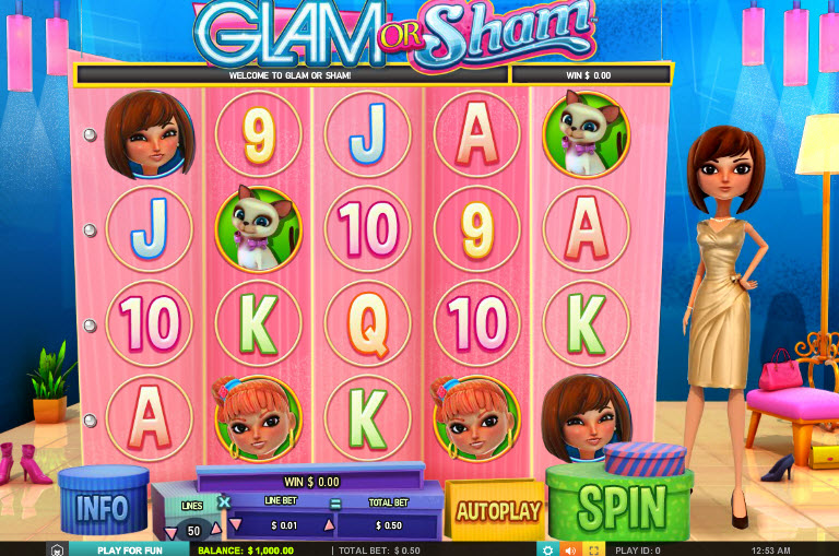 Glam Or Sham MCPcom Leander Games