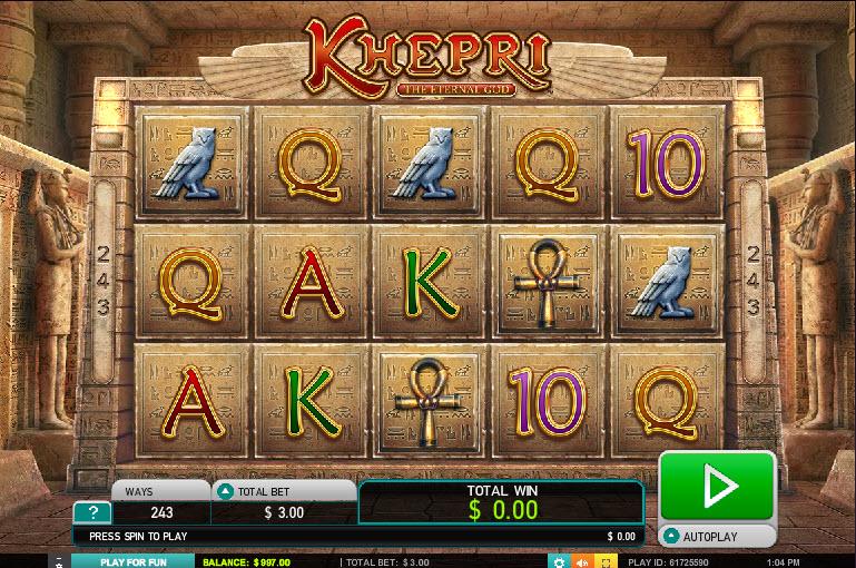 Khepri – The Eternal God MCPcom Leander Games