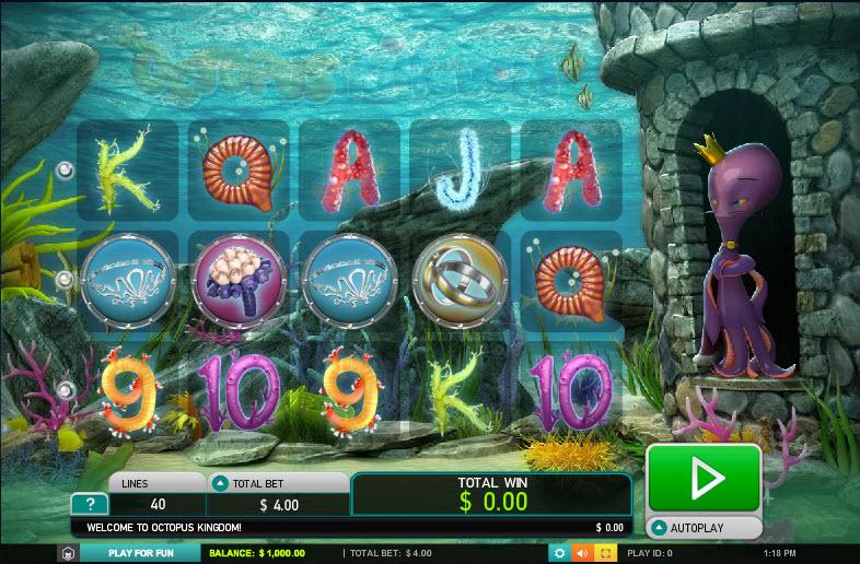 Octopus Kingdom MCPcom Leander Games