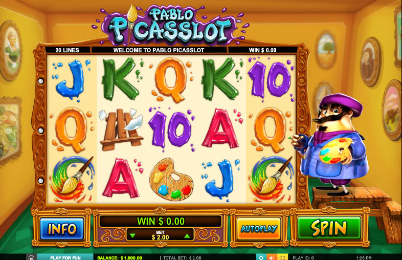 Pablo Picasslot MCPcom Leander Games