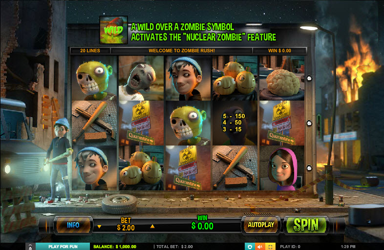 Zombie Rush MCPcom Leander Games