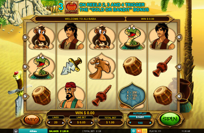 Ali Baba MCPcom Leander Games