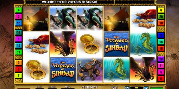 The Voyages's Sinbad MCPcom Leander Games