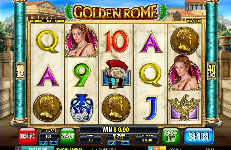 Golden Rome MCPcom Leander Games