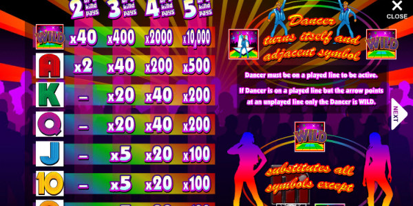 Disco Inferno MCPcom Mazooma Games pay
