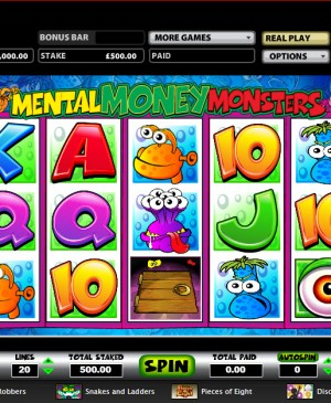 Mental Money Monsters MCPcom Mazooma Games