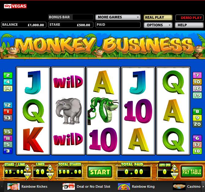 Monkey Business MCPcom Mazooma Games