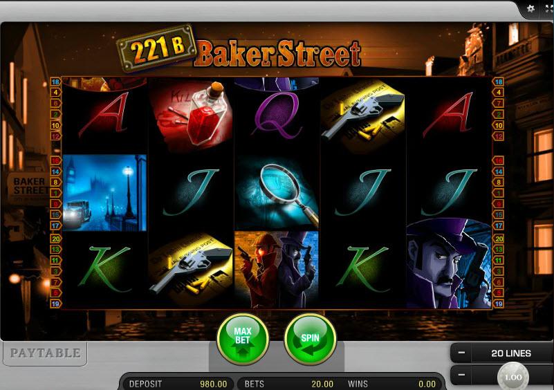 221B Baker Street MCPcom Merkur Gaming