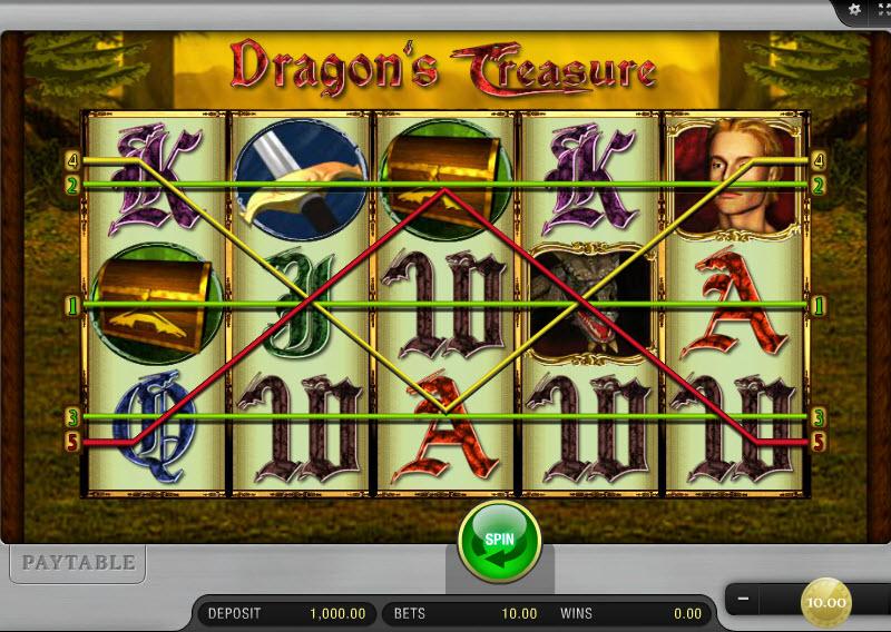 Dragon's Treasure MCPcom Merkur Gaming